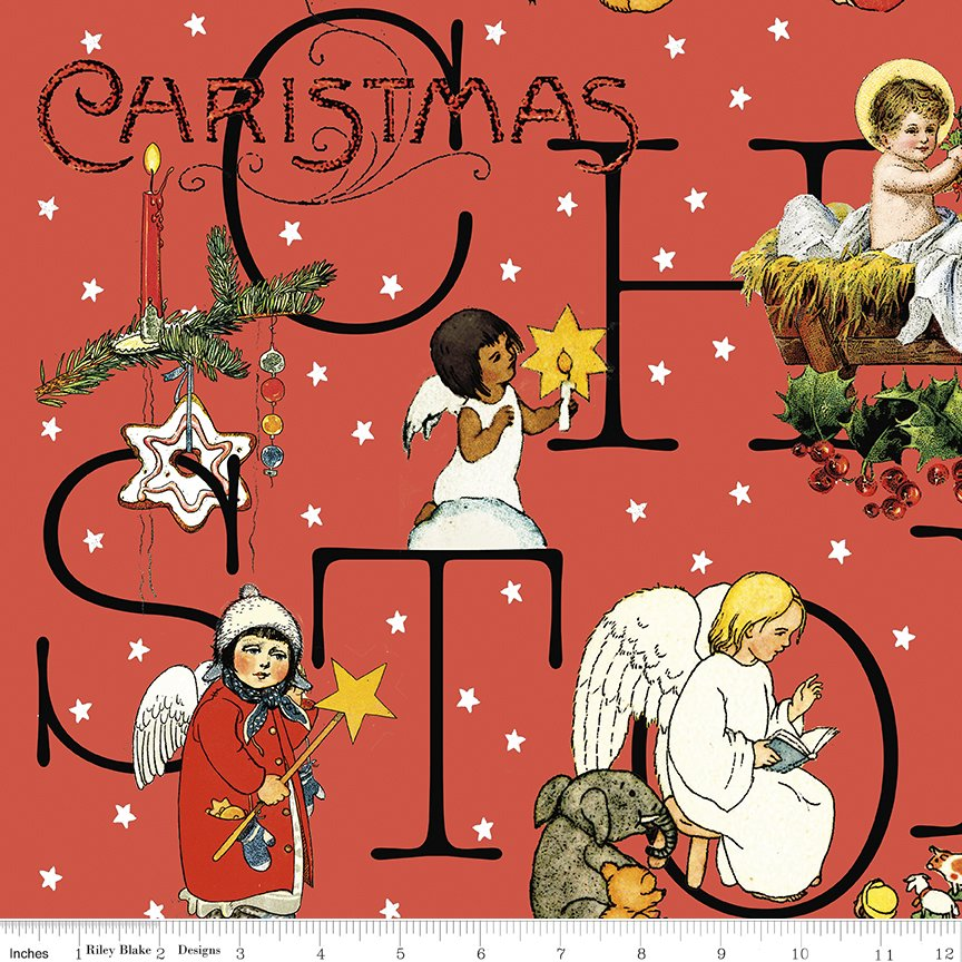 All About Christmas Story Red by Janet Wecker-Frish