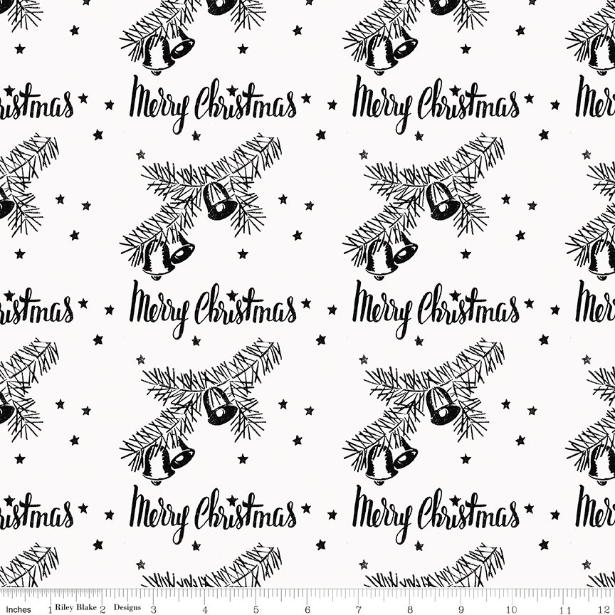 All About Christmas Stamps White by Janet Wecker-Frish