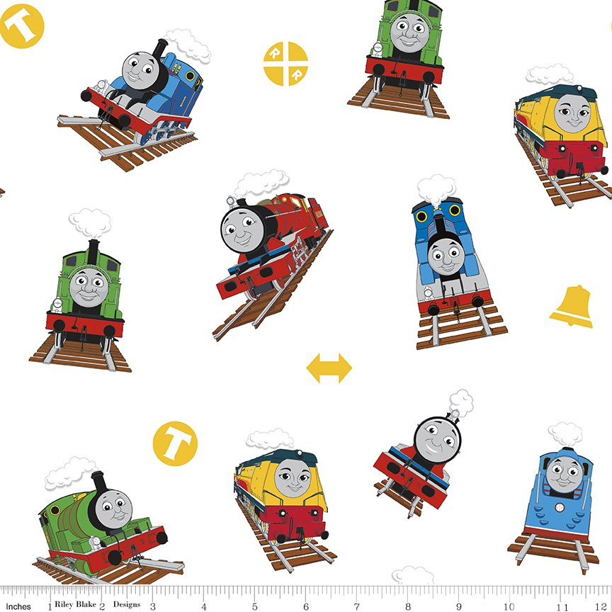 All Aboard Thomas and Friends White Train Toss