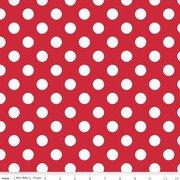 Medium Dots Red