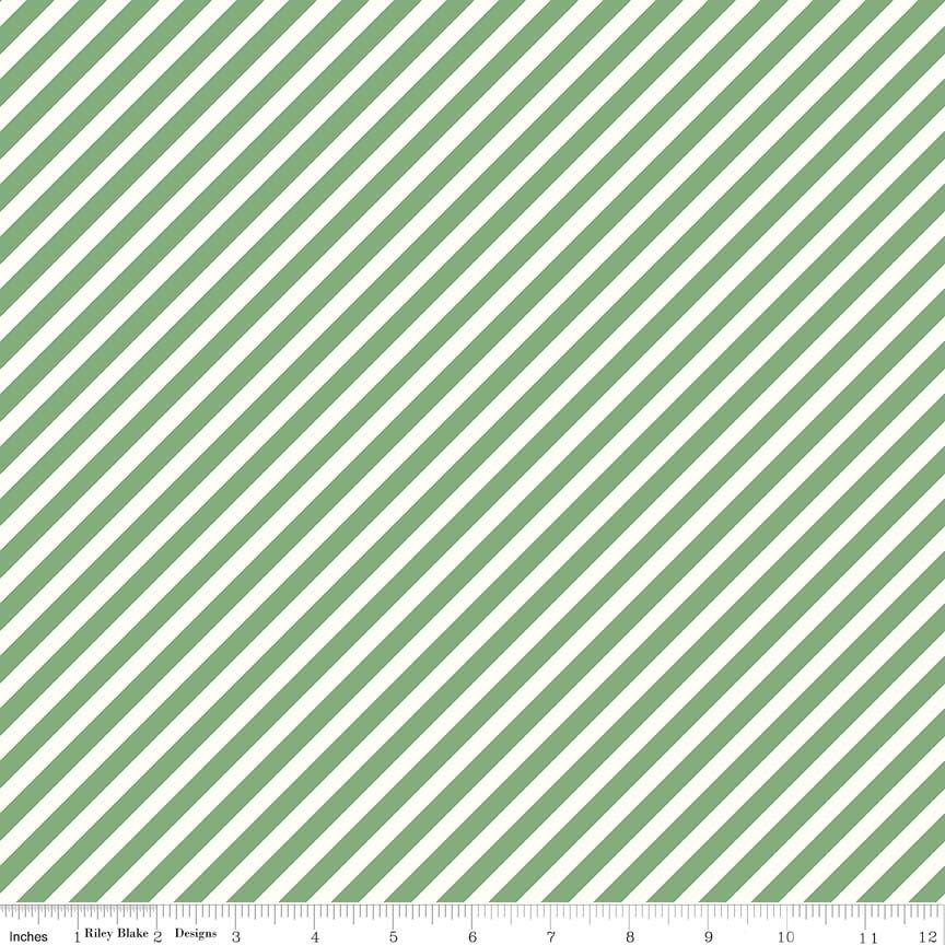 On Trend Mint Stripe