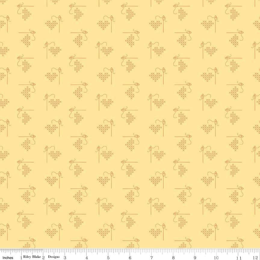 Bee Basic Heart Yellow
