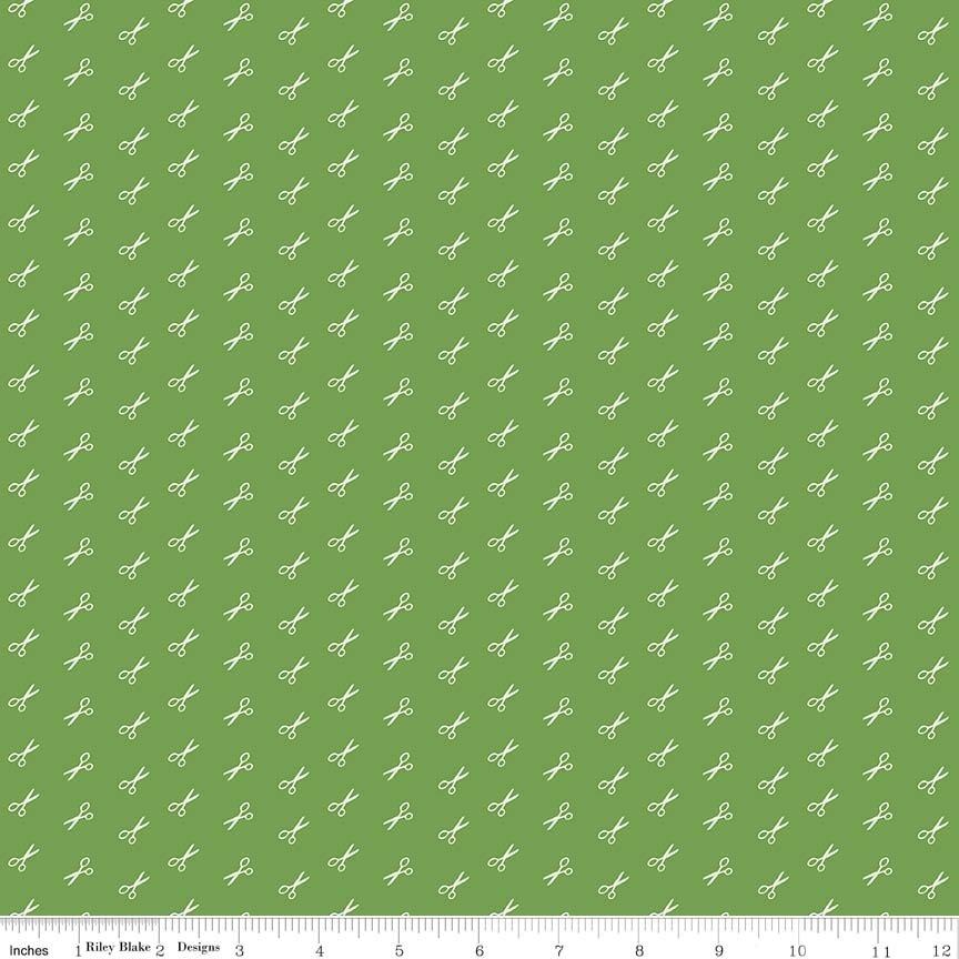 Basics Scissor Green