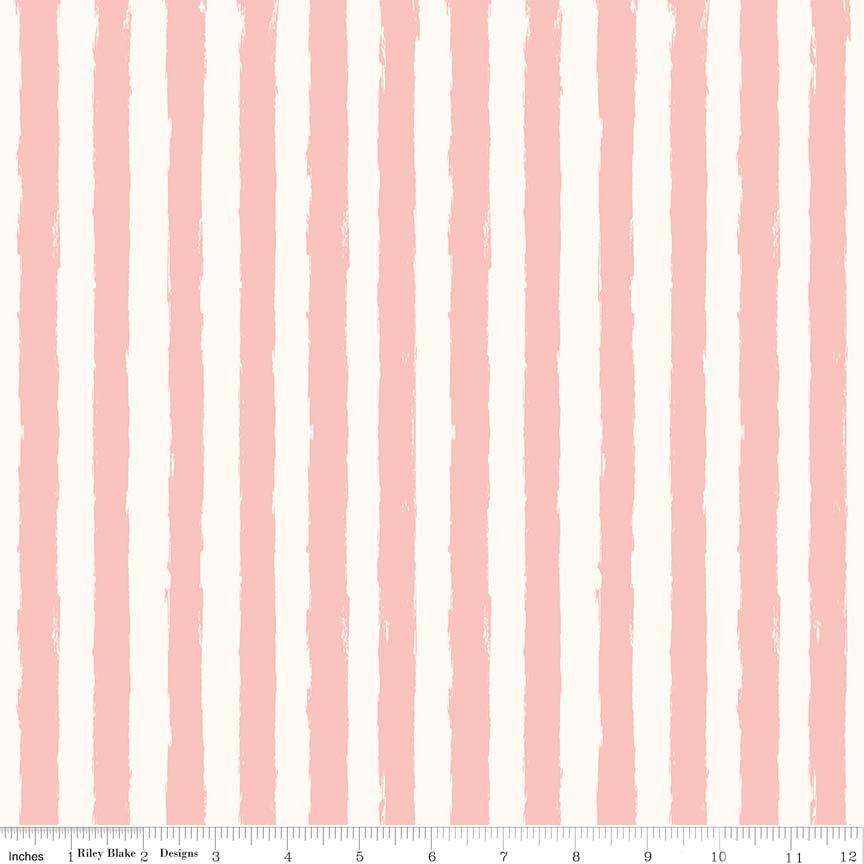 Blush Stripe Cream