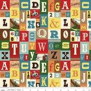 Cowboy Country Alphabet Multi