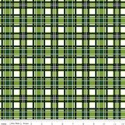 Christmas Memories Plaid Green
