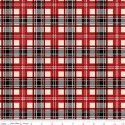Christmas Memories Plaid Red