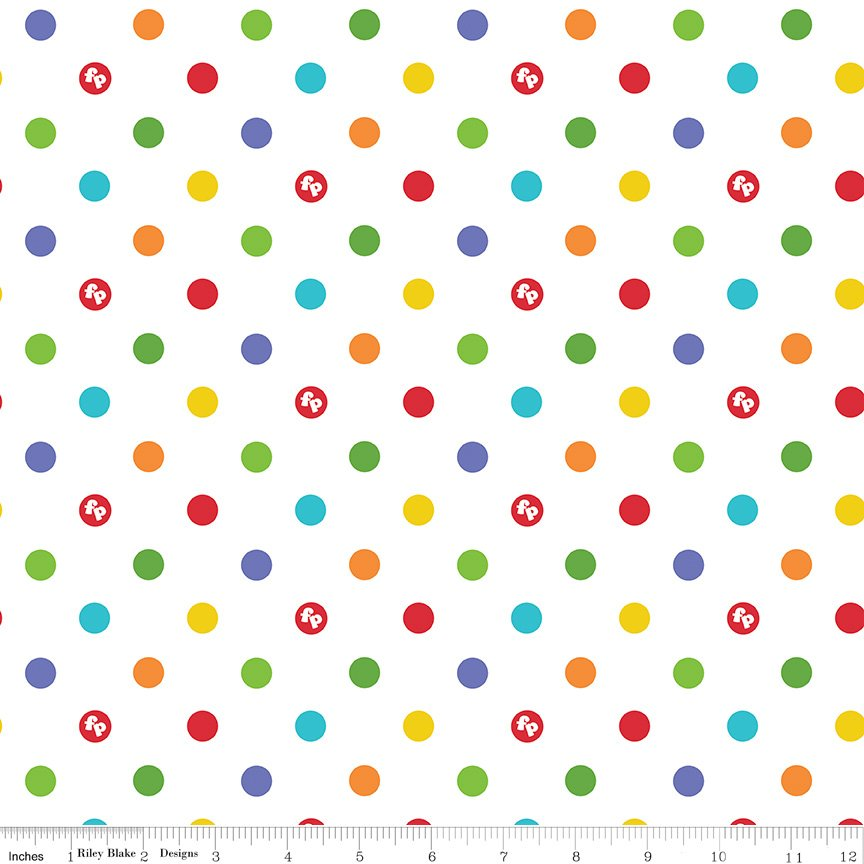 Fisher-Price Dots White