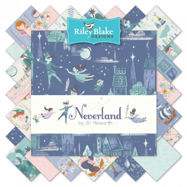 Neverland 10 Stackers by Riley Blake