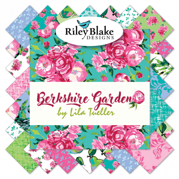 Berkshire Garden FQ Bundle 18 pieces