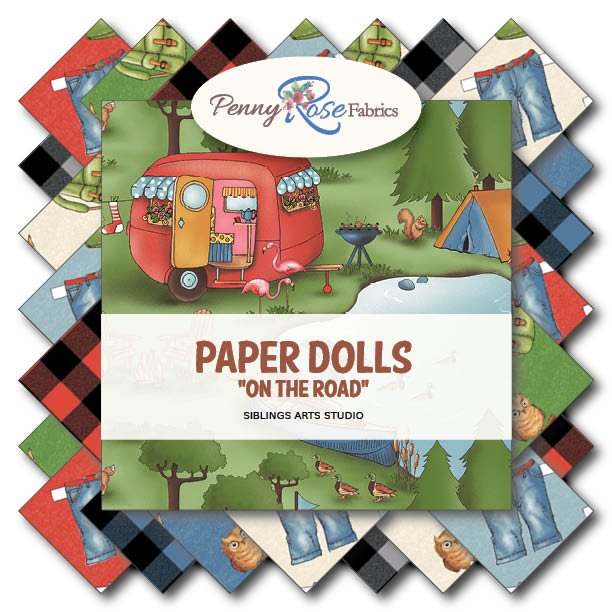 On the Road Paper Dolls