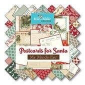 Postcards For Santa FQ bundle