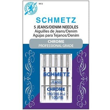 Schmitz chrome Denim Needles 100/16