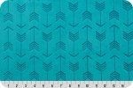 Embossed Arrow Teal