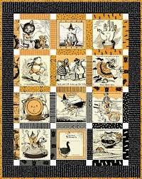 Scary Story Book Quilt Kit