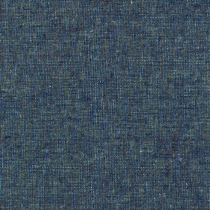 Essex Linen Metallic Ocean