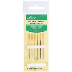 Clover goldeye chenille needles