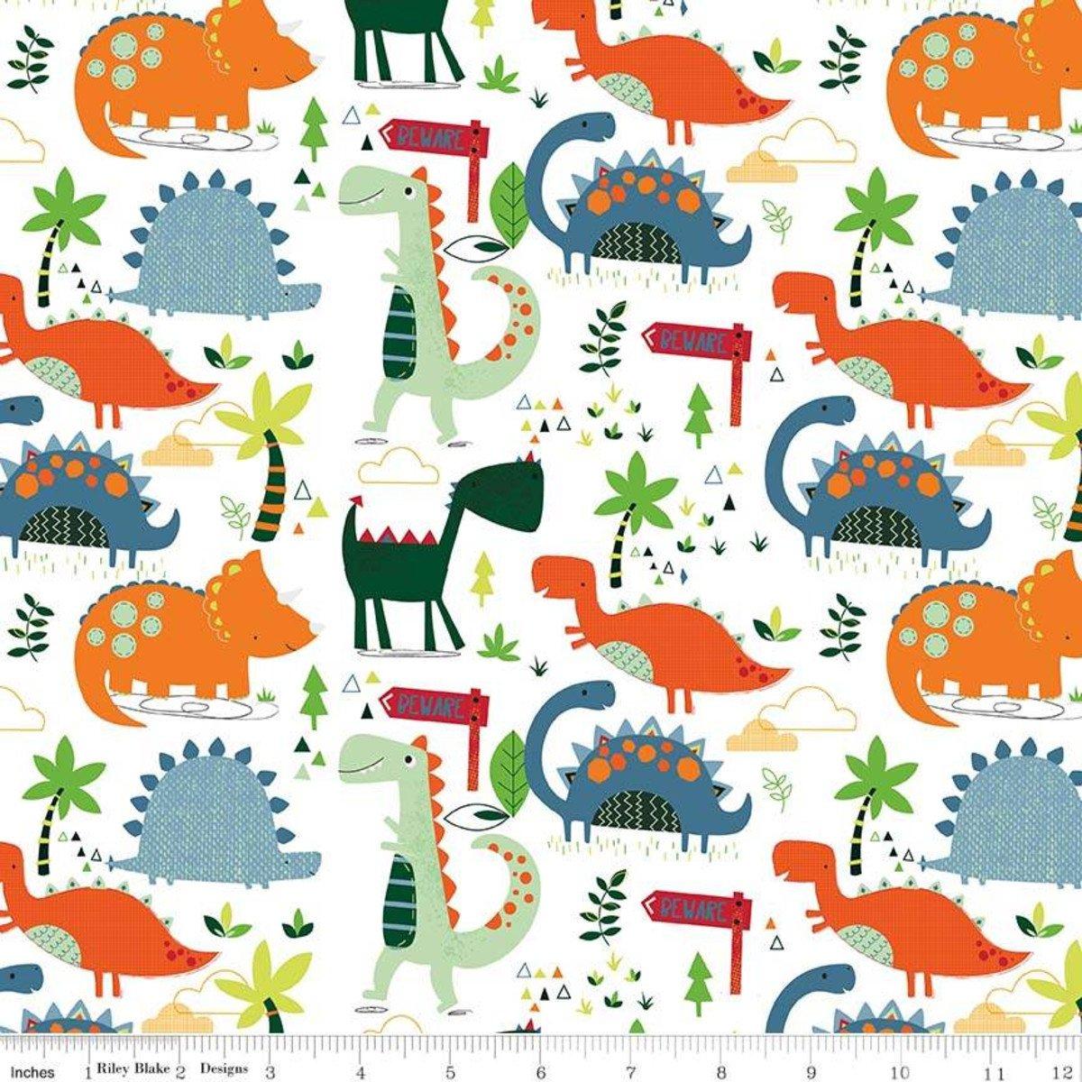Dinosaurs Flannel