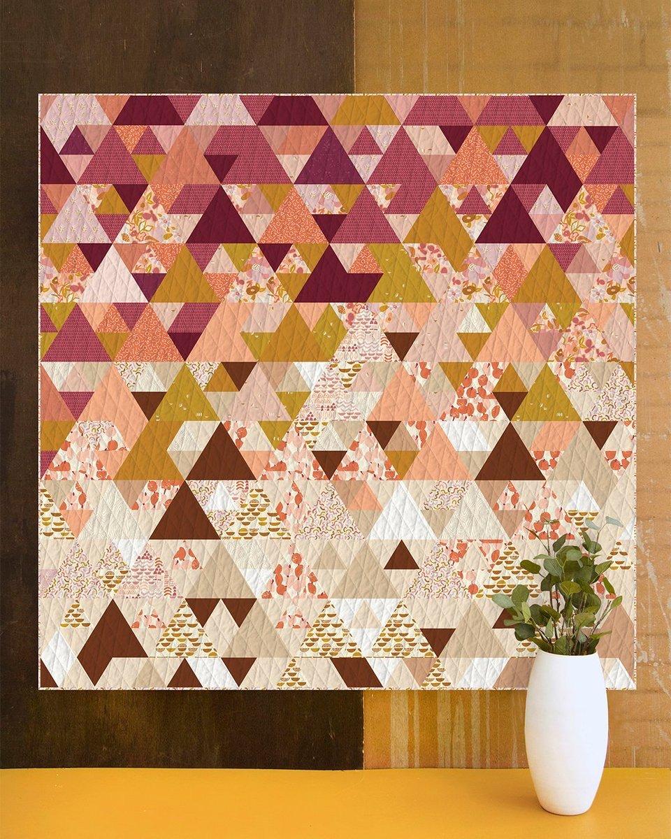 Desert Sunset Quilt Kit ft Terra Kotta by Art Gallery Fabrics