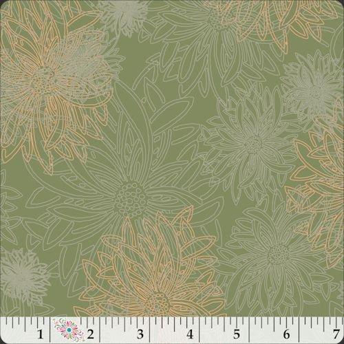 Floral Elements 509 Olive