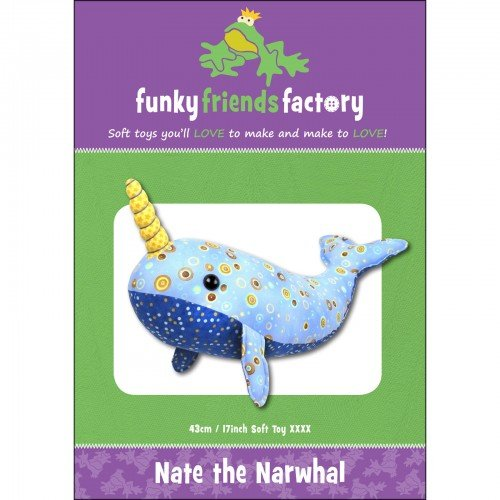 Funky Friends Factory Nate the Narwhal