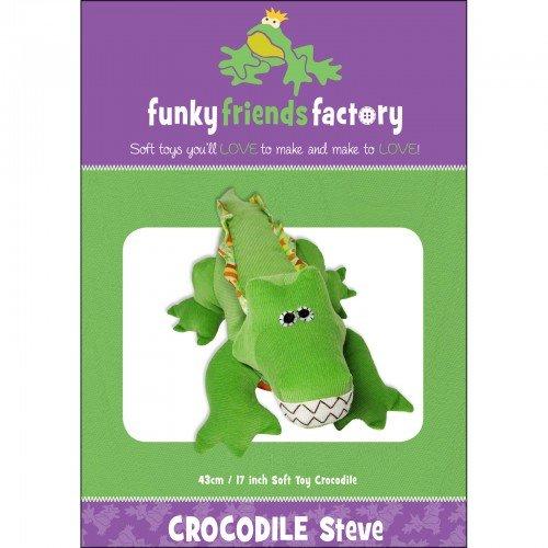 Funky Friends Factory Crocodile Steve