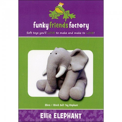 Funky Friends Ellie Elephant