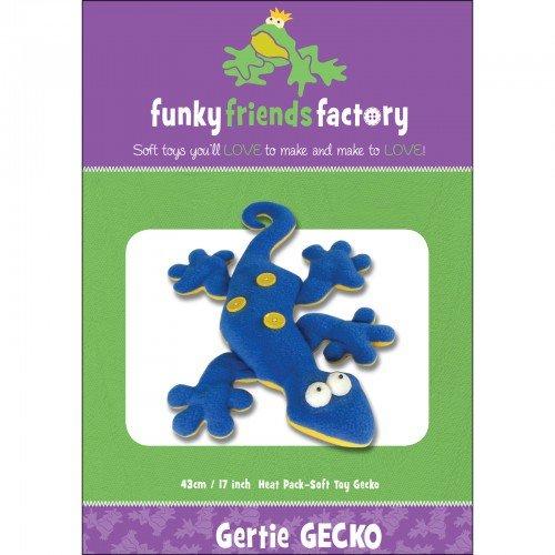 Funky Friends Factory Gertie Gecko