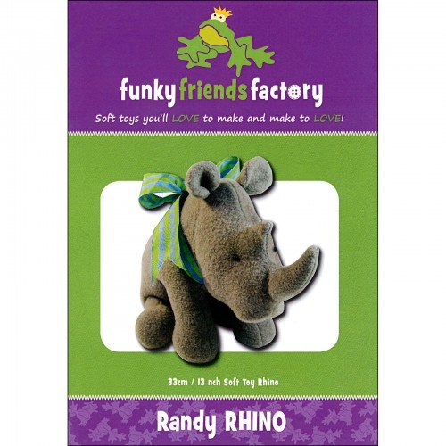 Funky Friends Factory Randy Rhino