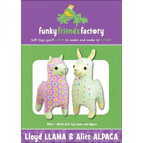 Funky Friends Factory Lloyd Llama and Alice Alpaca