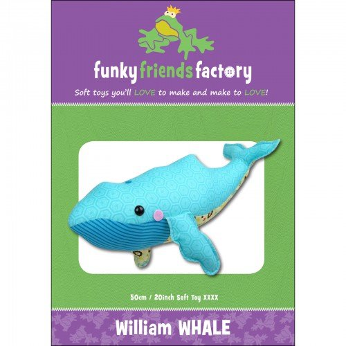 Funky Friends Factory William Whale