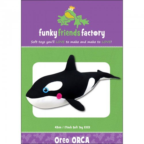 Funky Friends Factory Oreo Orca