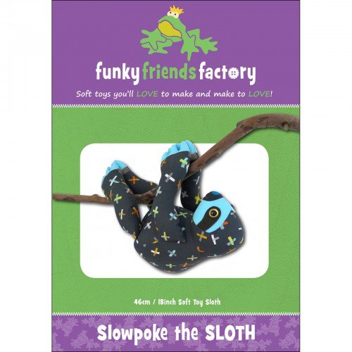 Funky Friends Factory Easter Slowpoke the Sloth