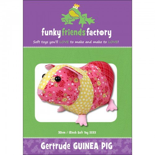 Funky Friends Factory Gertrude the Guinea Pig