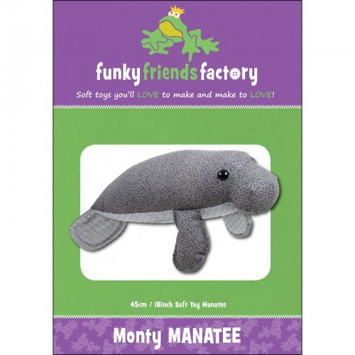 Funky Friends Factory Monty Manatee