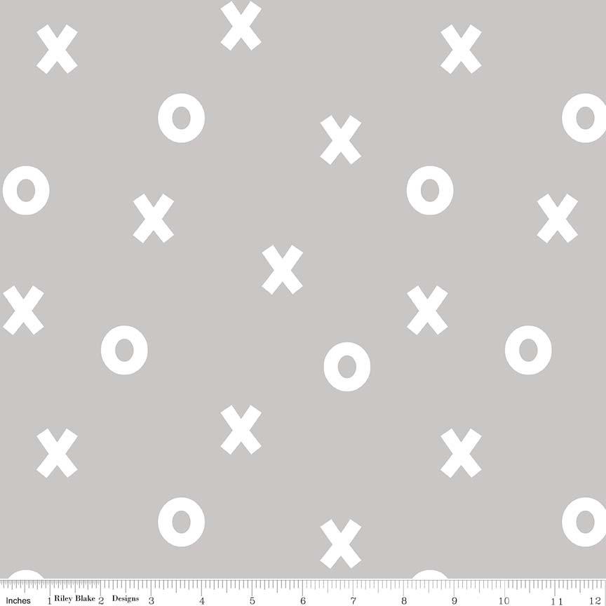 Xs & Os Grey