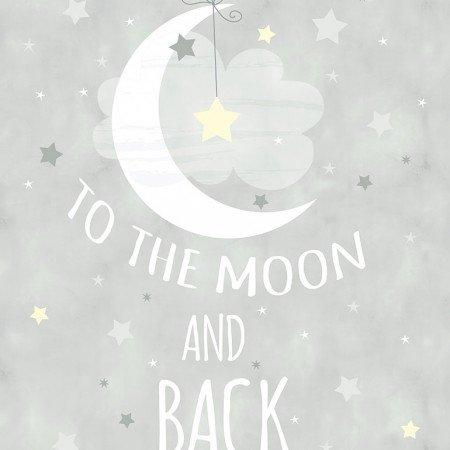 Moon and Stars Panel