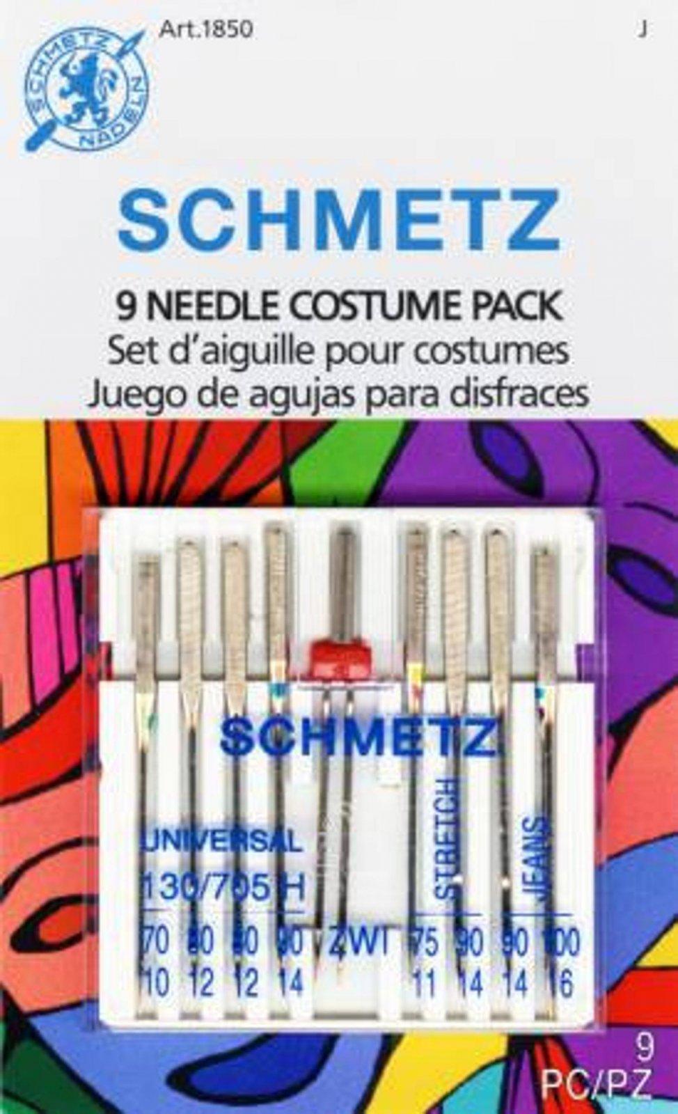 Schmetz 9 Needle Costume pack