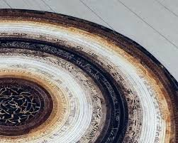 Colossal Round Rug Pattern