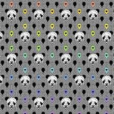 Pandamonium Linework by Tula Pink (3m max per order)