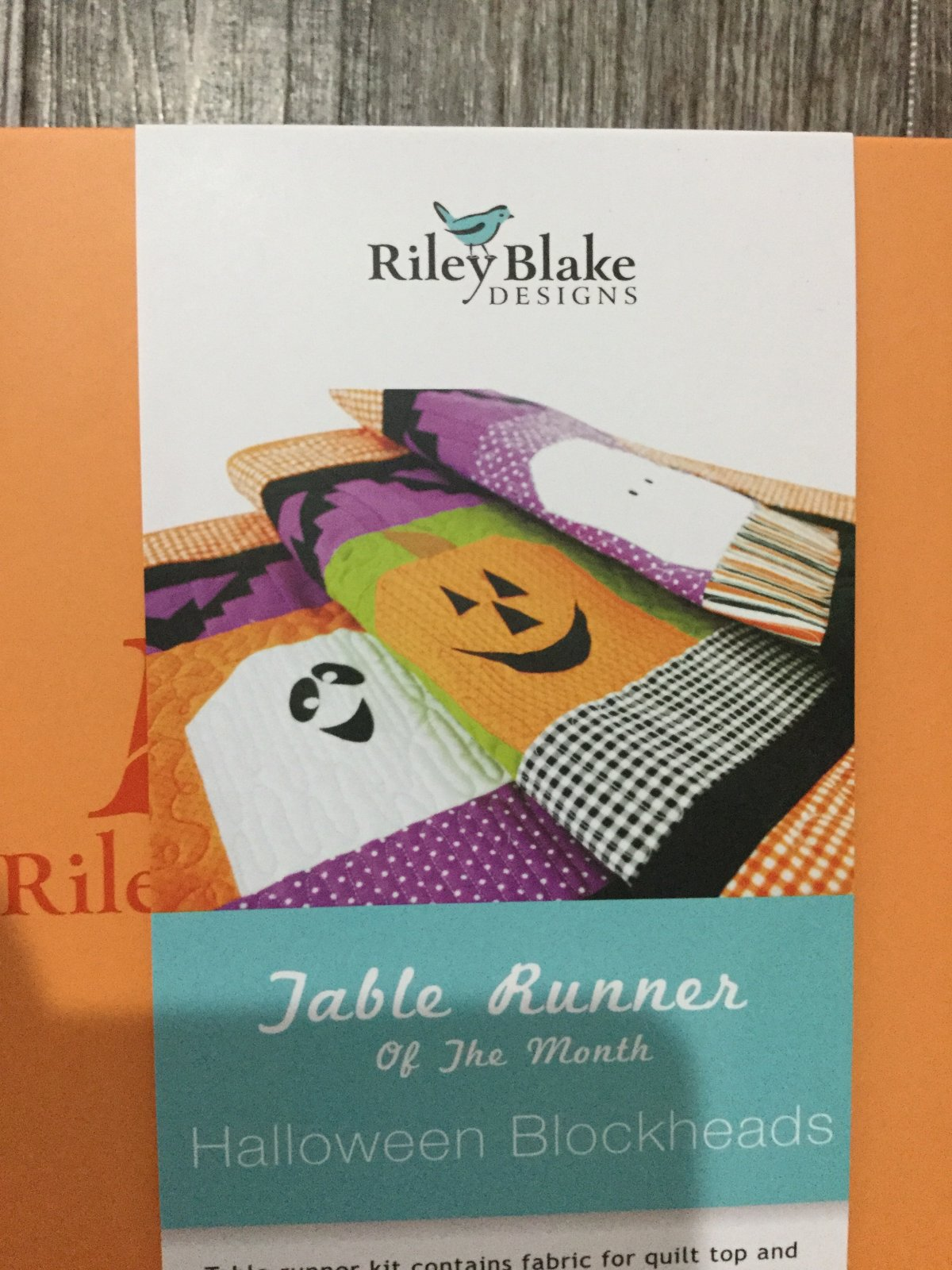 Table Runner of the Month October