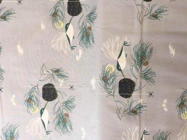 Bird Architects by Charley Harper Ruby Throated Hummingbird