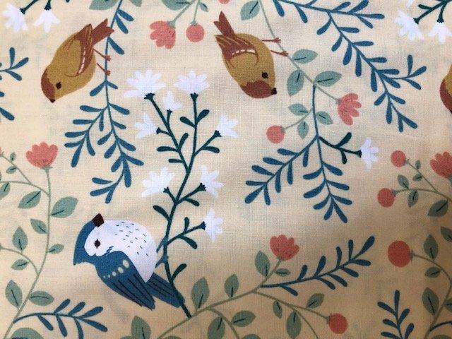 Teagan White Birds and Branches Cream