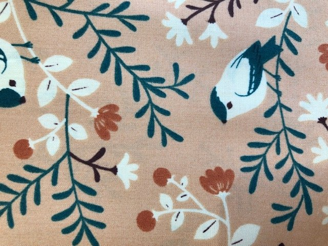 Teagan White Birds and Branches Coral