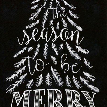 Be Merry Black