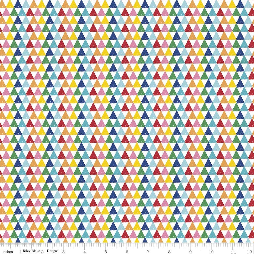 Crayola Knit Triangles Multi