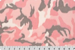 Camo Luxe Cuddle Pink