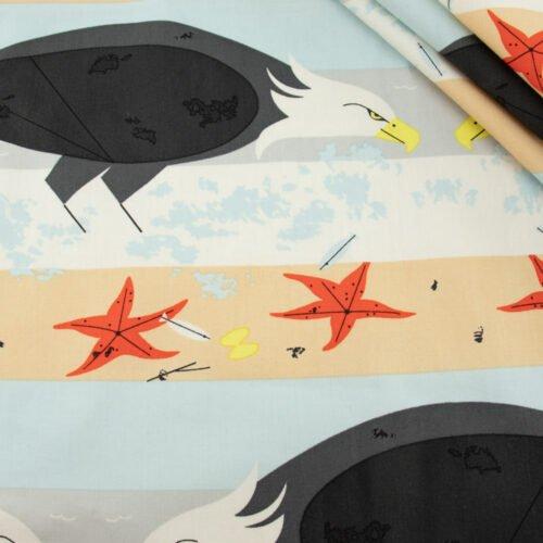 Coastal Eagle by Charley Harper