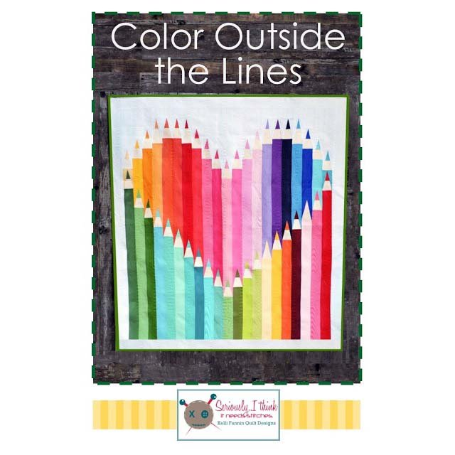 Color Outside the Lines by Kelly Fannin