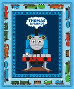 All Aboard with Thomas and Friends Panel Blue